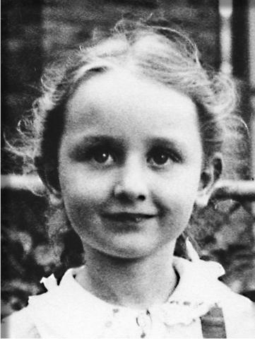 Elaine at age 6
