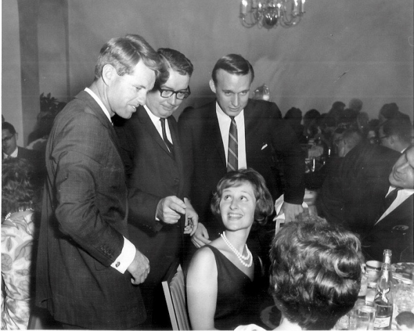 Elaine Schreiber meets Bobby Kennedy